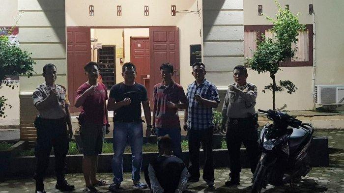Remaja 16 Tahun Gasak Motor Petani di Pantai Sari Ringgung