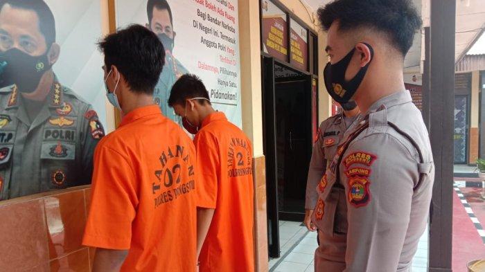 Remaja di Pringsewu Lampung Jadi Pengedar Sabu