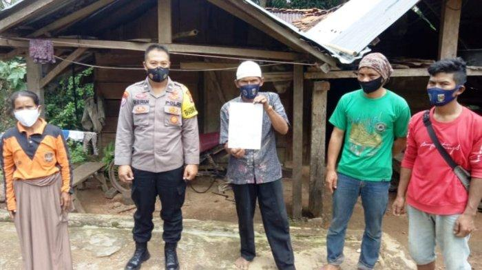 Anak Cekik Ayah Kandung di Tanggamus Lampung, Polsek Cukuh Balak Gelar Rembuk Pekon