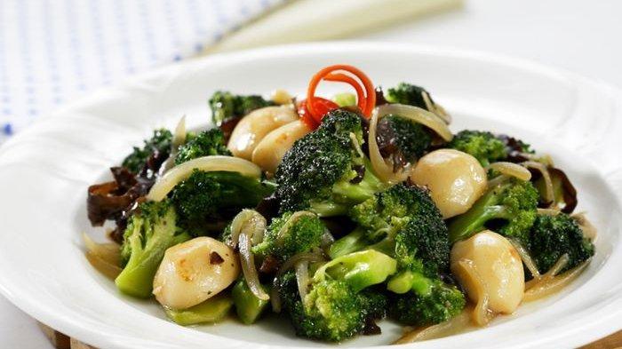 Resep Brokoli Tumis Bakso Ikan, Bahan dan Cara Memasak Brokoli Tumis Bakso Ikan
