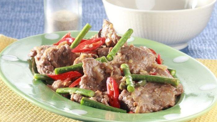 Resep Daging Tumis Kacang Panjang, Bahan dan Cara Buat Daging Tumis Kacang Panjang