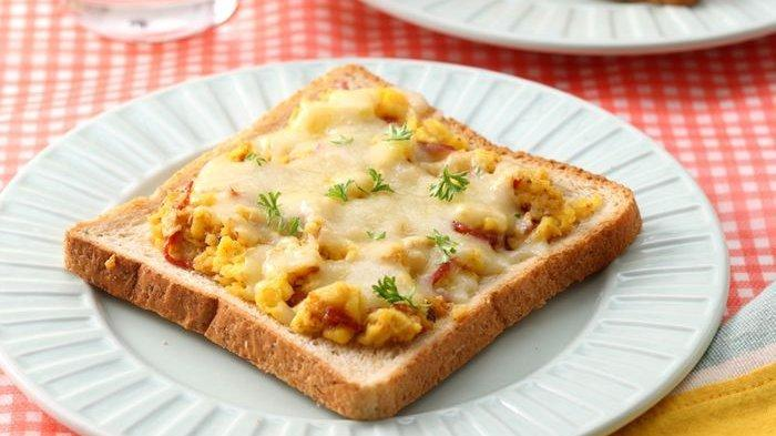 Resep Scrambled Egg Cheese Melt, Bahan dan Cara Buat Egg Chesee Melt