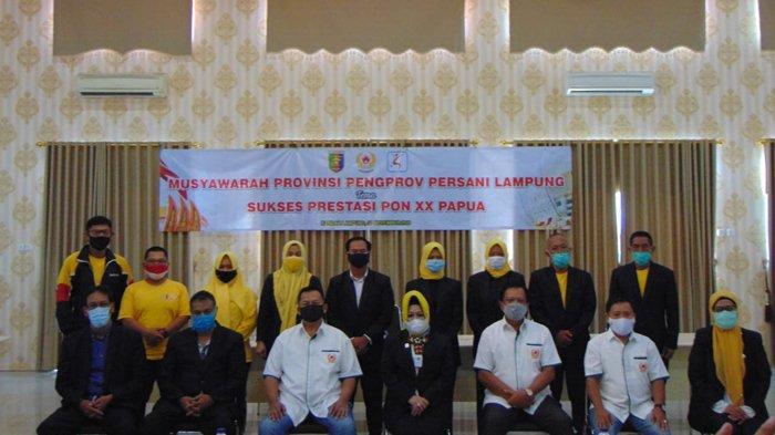 Resmi Ketua Persani Lampung, Reihana Harap Atlet Senam Bisa Harumkan Lampung di PON XX Papua