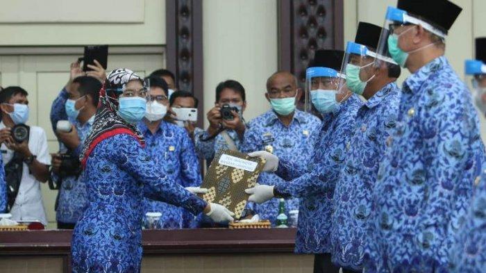 Resmi Terima Surat Tugas, Pesan Wagub Nunik Kepada 8 Plh Kepala Daerah di Lampung