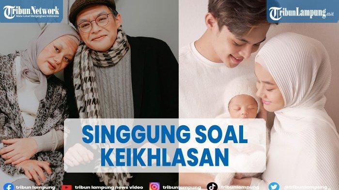 Rey Mbayang dan Dinda Hauw Ajarkan Anak Makna Kurban pada Idul Adha 2021