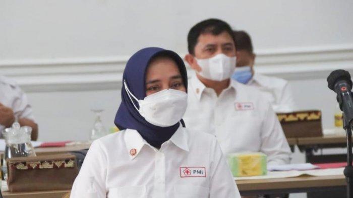 Ketua PMI Provinsi Lampung hadiri Puncak Peringatan HUT PMI dan Musyawarah Kerja Nasional