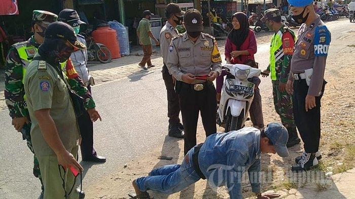 Ribuan Warga di 12 Lokasi di Lampung Selatan Langgar Protokol Kesehatan