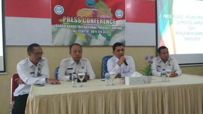 BREAKING NEWS - Sepanjang 2019, BNNP Lampung Tembak Mati 4 Bandar Narkotika