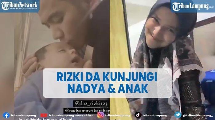 Rizki DA Kunjungi Nadya Mustika dan Anak, Tak Henti Ciumi Kening Baby Syaki