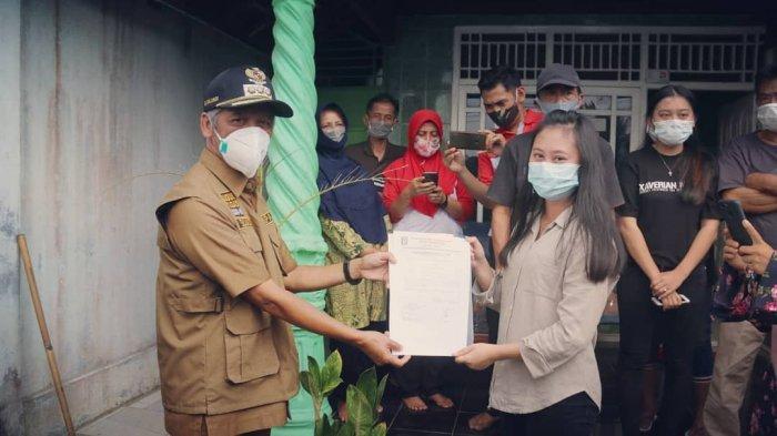Road to Tribun Lampung Award 2021, Bupati Pringsewu Sujadi Motivasi Pasien Covid-19