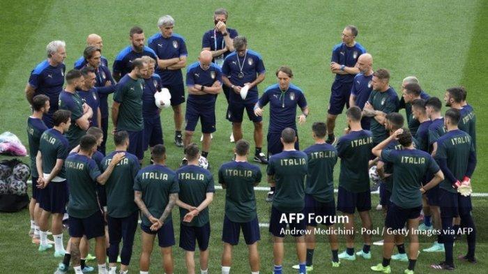 Jelang Pembukaan Euro 2020, Roberto Mancini Tampilkan Tim Italia Yang Menyerang