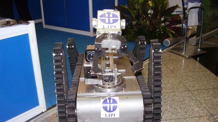 LIPI Ciptakan Robot Penjinak Bom Canggih, Seperti Ini Cara Kerjanya