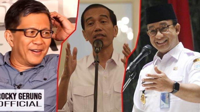 Soal Ibu Kota Negara Pindah, Rocky Gerung Sarankan Pindahkan Dahulu Presidennya