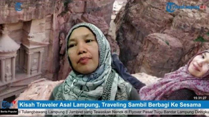 Rosita Sihombing, Traveler Asal Lampung yang Senang Berderma