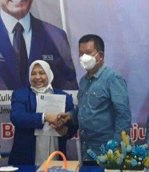 Kembali Nakhodai PAN Lampung Selatan, Roslina Bidik 10 Kursi
