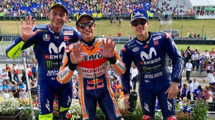 Klasemen MotoGP 2018 Usia Marc Marquez Menangi Balapan MotoGP Jerman 2018