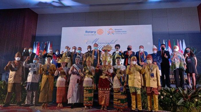 Rotary District 3410 Gelar District Conference Lampung 2021 Bertema Meaningful Harmony