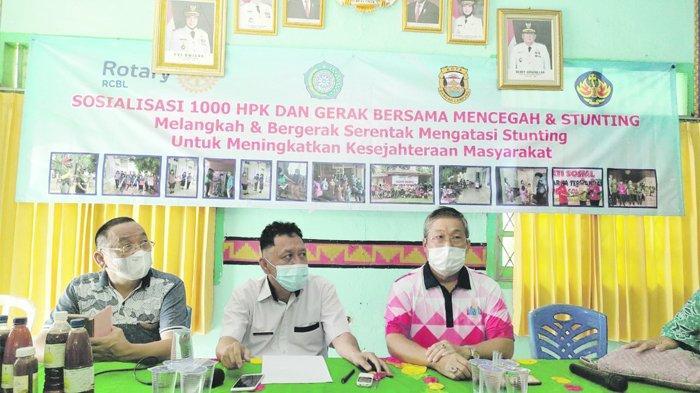 Rotary Club Bandar Lampung Sosialisasi Pencegahan Stunting