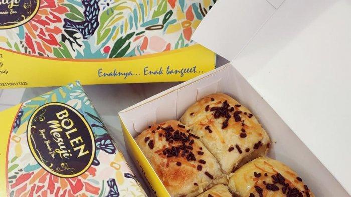 Roti Bolen Rasa Durian Rp 50 Ribu per Kotak