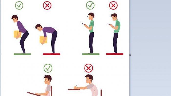 Bagaimana Postur Tubuh yang Benar