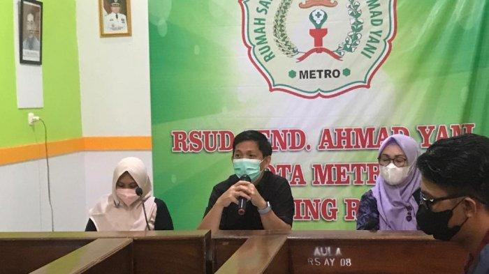 Stok Oksigen Menipis, RSUD Ahmad Yani Metro Lampung Angkat Tangan