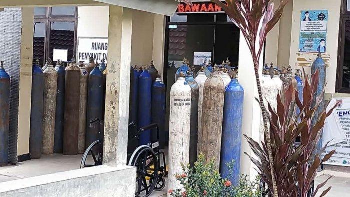 Stok Oksigen RSUD Sukadana Lampung Timur Tinggal 15 Tabung