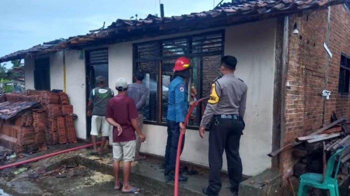 Rumah Buruh di Pringsewu Lampung Ludes Terbakar, Kerugian hingga Rp 150 Juta