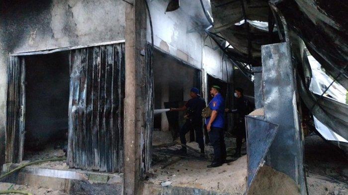 Rumah dan Kios Pertamini di Ulu Belu Tanggamus Ludes Terbakar, Kerugian Ditaksir Rp 300 Juta
