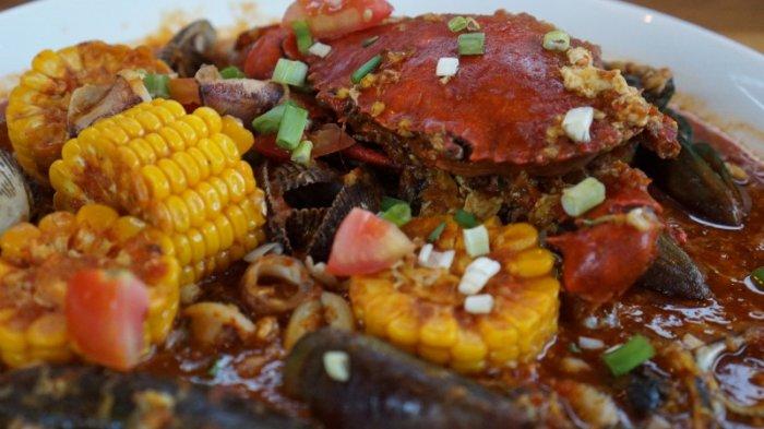 Sensasi Gurih Dan Pedas Santap Kepiting Nyablak Di Rumah Makan Ini Tribun Lampung