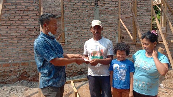 Rumah Roboh Tersapu Angin di Pringsewu Kini Dibangun Permanen