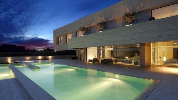 Penampakan Rumah Supermewah Cristiano Ronaldo Di Madrid Yang Dilego Rp 90 Miliar Tribun Lampung