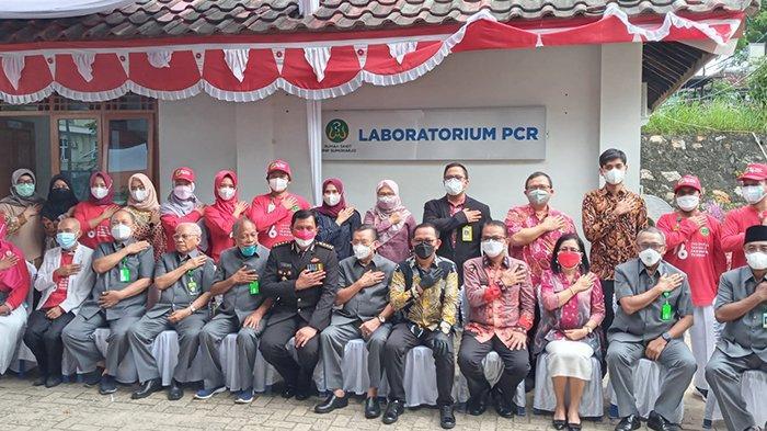 Rumah Sakit Urip Sumoharjo Resmikan Laboratorium PCR