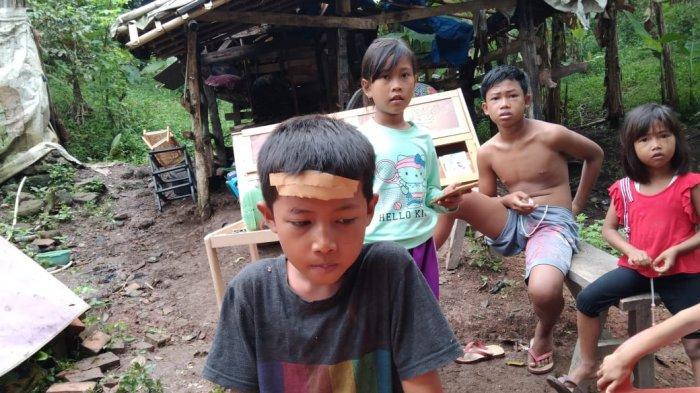 Rumah Warga di Bakauheni Lampung Selatan Rusak Parah, Seorang Anak Luka Tertimpa Dinding