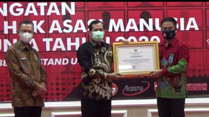 Rutan Kotabumi Diganjar Penghargaan Layanan Publik Berbasis HAM
