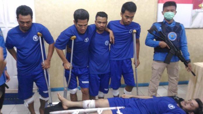 Berusaha Kabur, Kurir Asal Aceh Tewas Ditembak BNNP Lampung