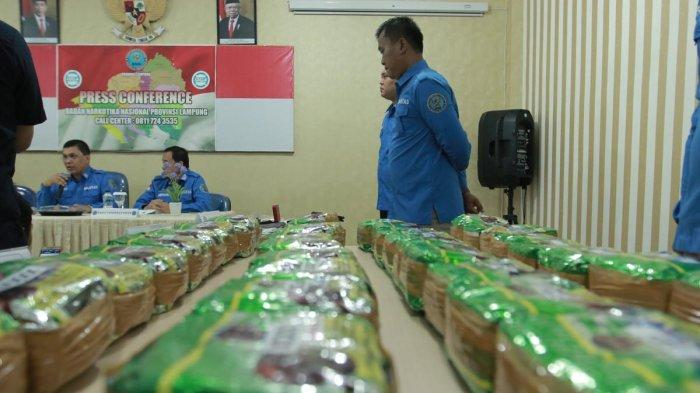Sepanjang 2019 BNNP Lampung Amankan 75,741 Kg Sabu
