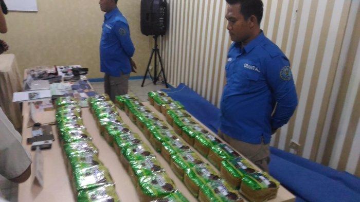 BREAKING NEWS - BNNP Lampung Gagalkan Pengiriman 41,6 Kg Sabu Jaringan Aceh-Lampung
