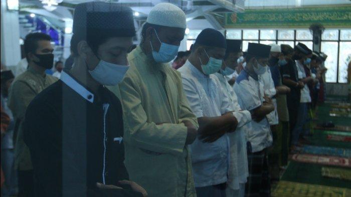 Sholat Idul Adha 1442 H di Masjid Al Abror Bandar Lampung