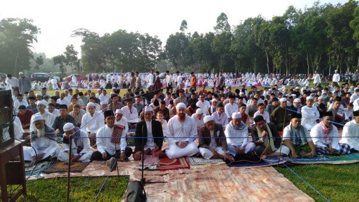 Jamaah Muslimin Hizbullah Lampung Salat Idul Fitri 1440 Hijriah Hari Ini