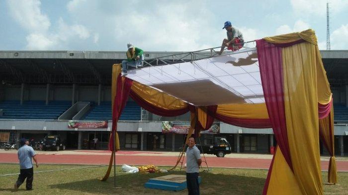 Jadi Tempat Salat Ied, Lapangan Stadion Pahoman Bisa Menampung 5 Ribuan Jemaah