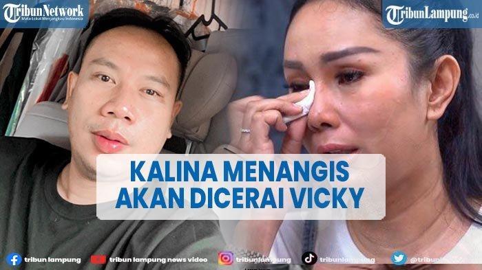 Vicky Prasetyo Sebut Belum Talak Kalina Oktarani