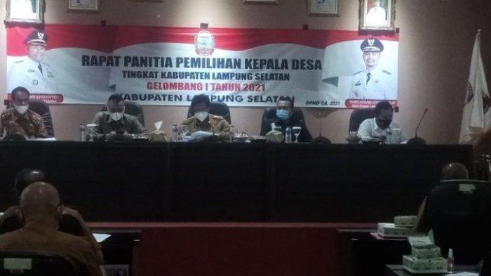 Sambut Pilkades Lampung Selatan, Sekdin PMD Minta Calon Kades Lulus Verifikasi