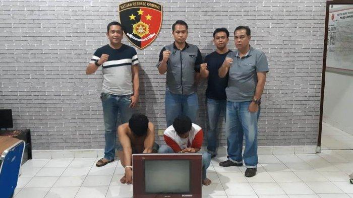 Warga Belalau Lampung Barat Merugi Rp 5 Juta, TV Hingga Gosokan Miliknya Raib Digondol Maling
