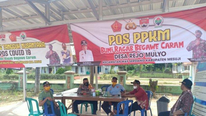 Giat Sambang Desa, Sat Binmas Polres Mesuji Sambangi Kecamatan Way Serdang