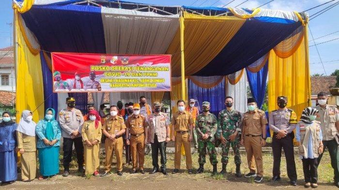 Satgagus Covid-19 Lampung Utara Cek Posko PPKM di 23 Kecamatan