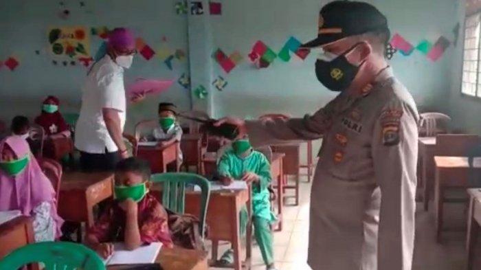 Siswa dan Guru Langgar Prokes, Satgas Covid-19 Hentikan KBM Tatap Muka di Kotabumi
