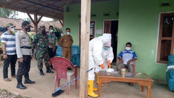 Satgas Covid-19 Kecamatan Abung Tengah Lakukan Tracing ke Warga