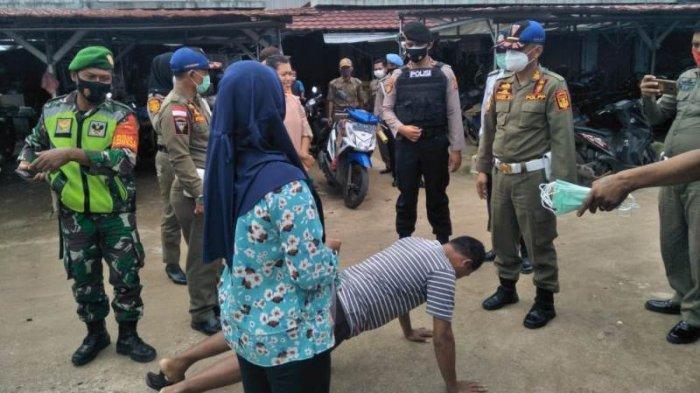 Satgas Covid-19 Lampung Tengah Gelar Operasi Yustisi Penegakan Perda