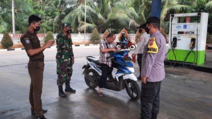Satgas Batanghari Nuban Lampung Timur Gelar Operasi Yustisi
