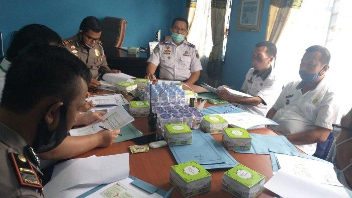 Satlantas Polres Lampung Tengah Rapat Bersama Penggunaan Fasilitas Keselamatan Jalan